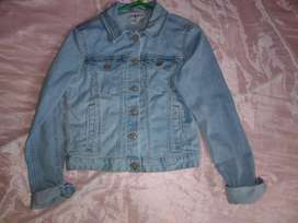 LINDA DENIM JACKET CELESTE