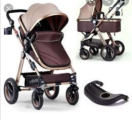 Coche cine baby con silla de carro 4-1