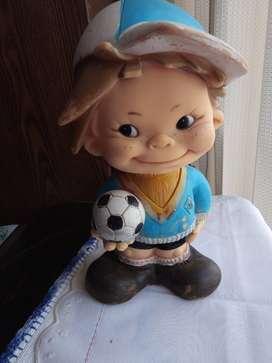 Muñeco de goma años 70