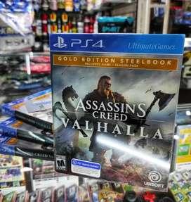 Assassin's Valhalla Gold edition Steelbook