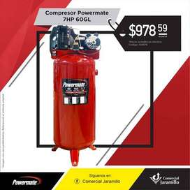 Compresor - Power mate - 7HP - 60GL