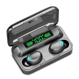 Audífonos Inalámbricos Touch TWS BTH-F9-5 Powerbank