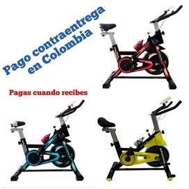 Bicicleta Spinning Baja de Peso, máquina de ejercicio y abdominales