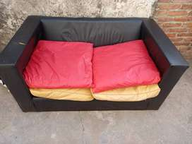 Sillon sofa 2 cuerpos