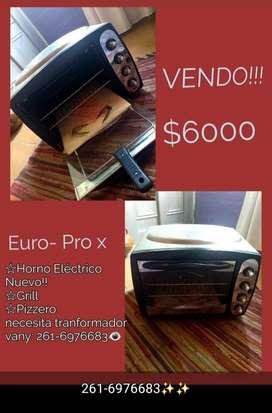 VENDO HORNO ELÉCTRICO! EURO- PRO X