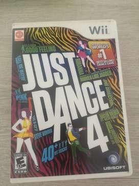 Videojuego wii just dance 4