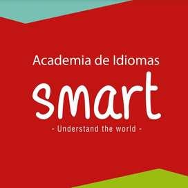 Dos niveles de inglés en academia Smart