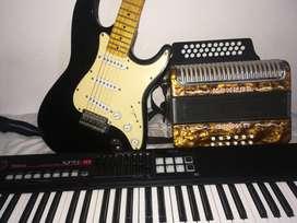 CLASE DE ACORDEON, PIANO, GUITARRA,BAJO ELECTRICO.