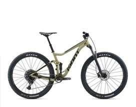 Bicicleta giant doble suspensión