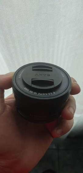 Lente Sony 16-50    $175