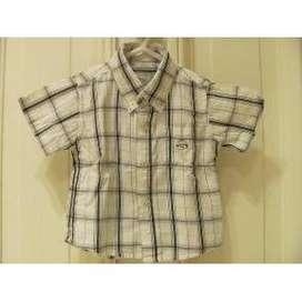 camisa bebe 6m manga corta perfecta
