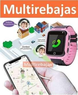Reloj Inteligente Para Niños Gps Smartwatch Notificaciones