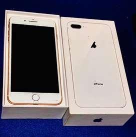 Iphone 8 plus 64 GB GOLD ROSE