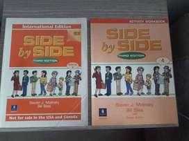 Libro y cuadernillo de trabajo Side by Side 4