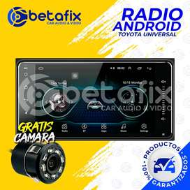 "RADIO ANDROID PARA TOYOTA UNIVERSAL 8"" GPS BT USB WIFI BETAFIX DESDE"