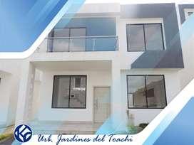 venta-casa -Pretigiosa-Urbanizacion-Jardines del Toachi-privado-listo para habitar.