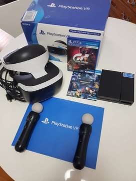 Casco de realidad virtual Vr para ps4