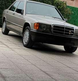 mercedes benz 190E automatico 1988 original