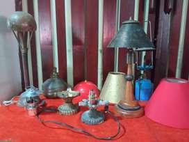 Lámparas Antiguas de coleccion