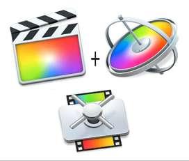 Final Cut Pro + Motion + Compressor - Para Mac - En Español.