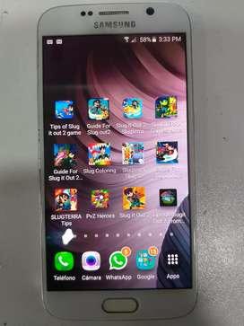 Se vende Samsung s6 de 64 gb (en Jamundi)