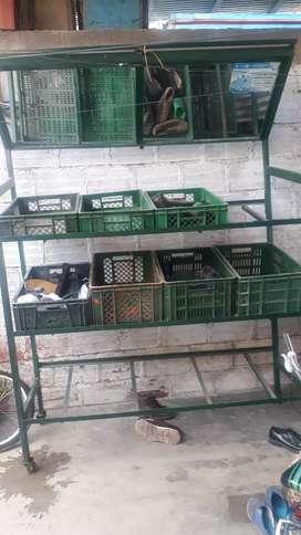 Verdurero para tienda