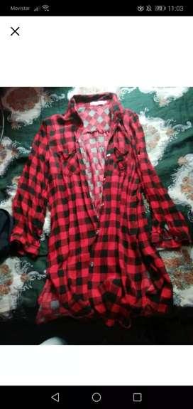 Camisa Tipo Vestido