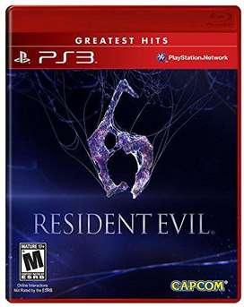 Juego original ps3 resident evil 6