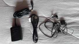Audifonos Motorola y cable USB ORIGINALES
