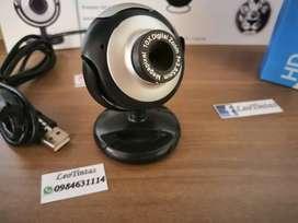Cámaras Web HD interfaz Usb con enfoque ajustable en la lente micrófono incorporado █Entrega Gratis