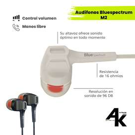 Audífonos - auriculares Bluespectrum M2