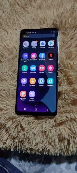 Samsung A21S color blanco como nuevo único dueño