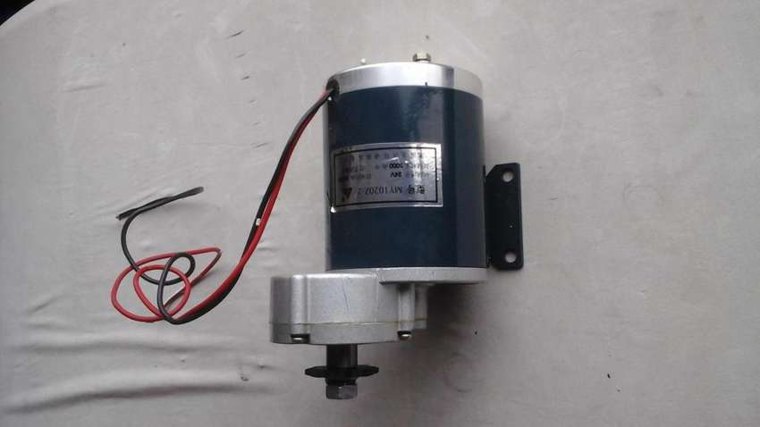 Motor para vehiculo electrico CC 24vdc 360 watts 0