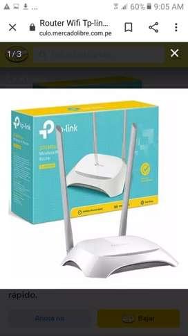 Llegaron router Tp link 840