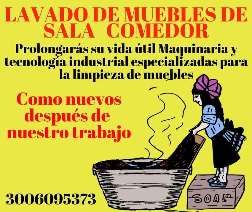 LAVADO DE MUEBLES COLCHONES TAPICERIAS EN BOGOTA 0