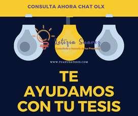Tu ayuda sobre Tesis Asesoría Master Tesis Redactamos Corrección Metodología de investigación  Argentina