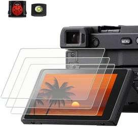 Vidrio Protector de Pantalla LCD Cámaras Sony Alpha A6XXX