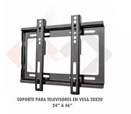 SOPORTE TV FIJO LA38