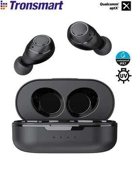 Tronsmart Onyx Free Audifonos Bluetooth AptX Esterilización UV Impermeable IPX7