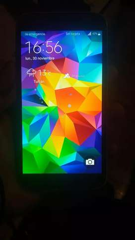 Galaxy s5 a 45 negociable