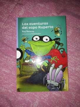 LIBRO LAS AVENTURAS DEL SAPO RUPERTO de Roy Berocay