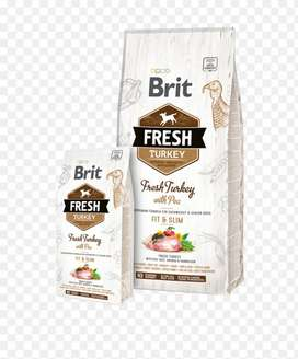 Brit Fresh turkey bolsa de 12kg