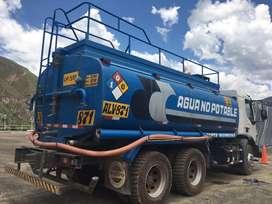 ALQUILER DE CISTERNA DE AGUA 5,000 glns.