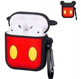 Estuche Silicone Case De Diseño Para AirPods - Mickey Mouse