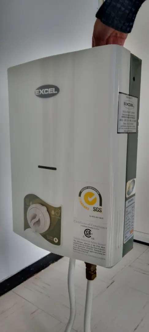 Calentador de agua Excel 5.5 Lts