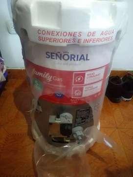 Vendo termotanque señorial de 30 litros sin uso ni sacado de su empaque... A gas...
