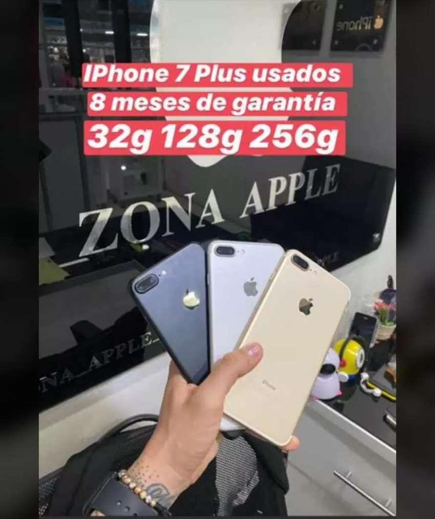 Vendo Iphone 7 plus 0