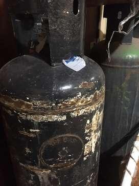Garrafa de 45 kilos o tubo