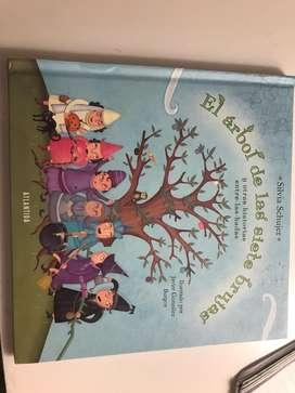 """Libro de cuentos """"El arbol de las siete brujas"""""""