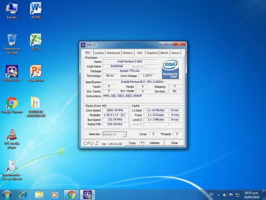 cpu con disco duro híbrido de 7200 rpm y tarjeta de vídeo Radeon 0